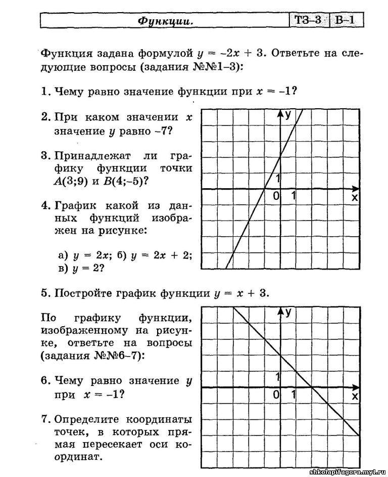 карточки по математике